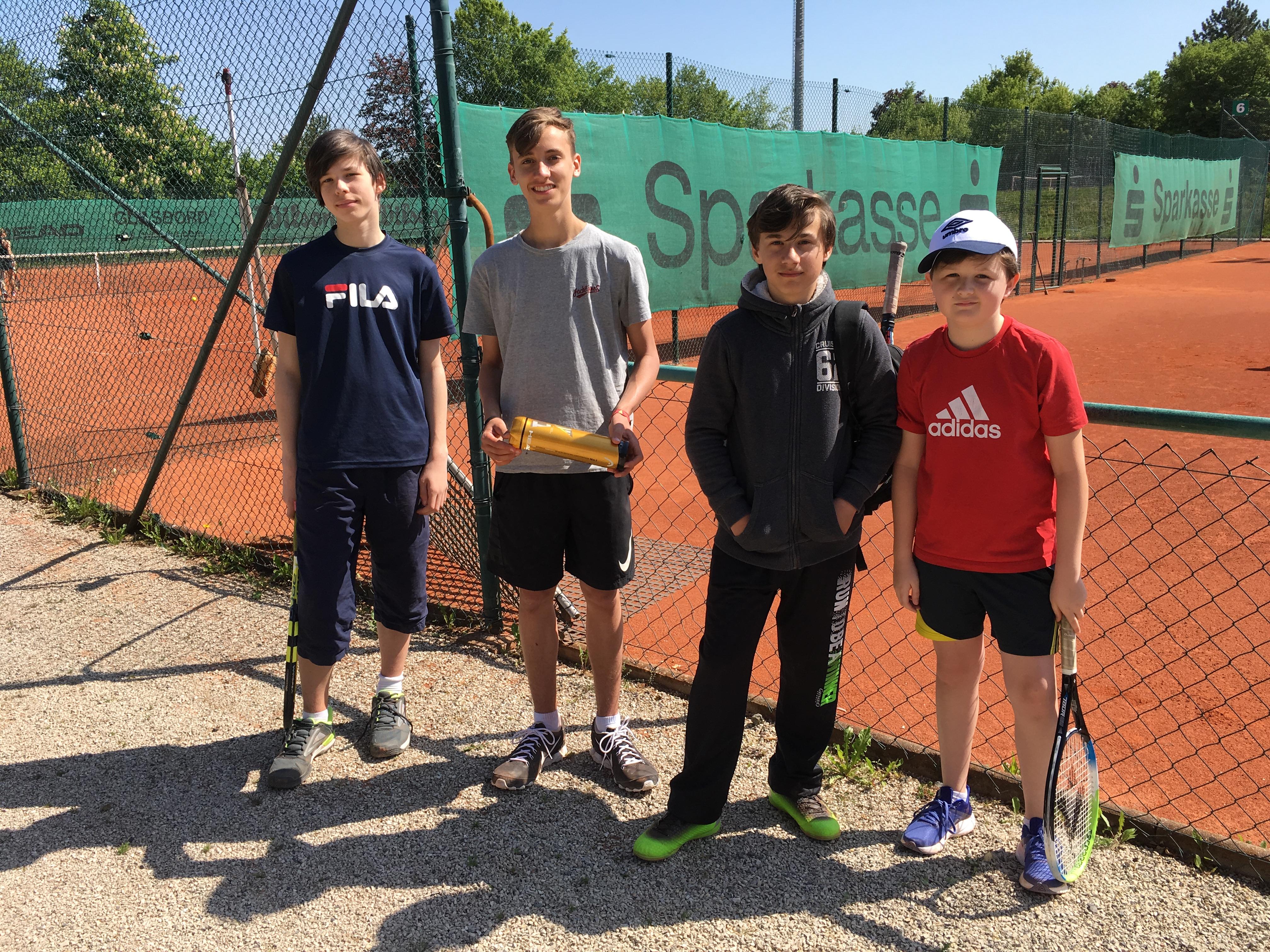 Knaben 14 Tennisclub Gr N Weiss Bayreuth